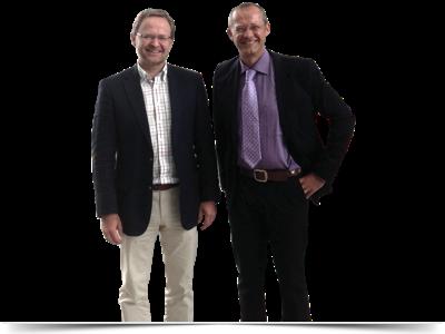 Foto S. Kirsch (re.) und J. Wassermann