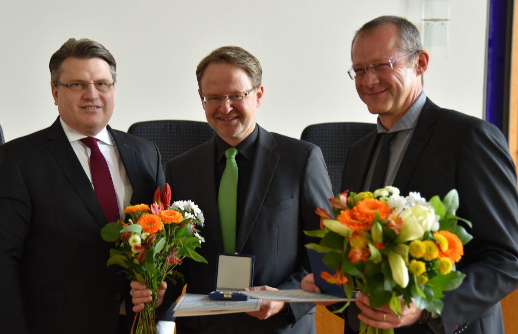 Überreichung der Medaille für die Verdienste um die Bayerische Justiz