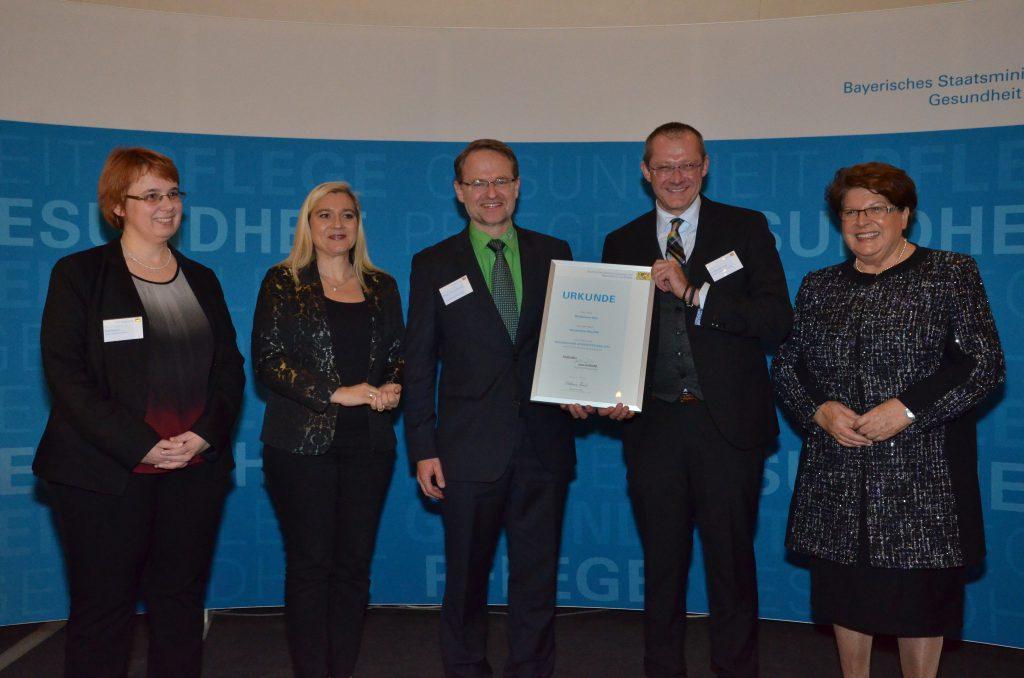 mit Gesundheitsministerin Melanie Huml und der Landtagspräsidentin Frau Barbara Stamm