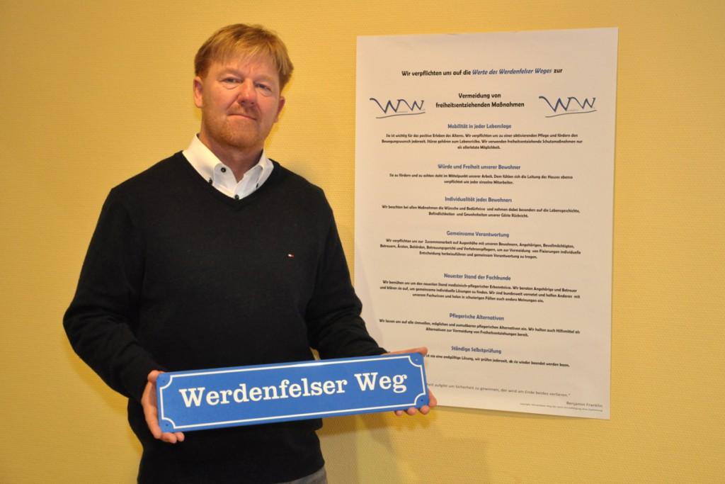 Marius Marczik, Pflegedienstleiter der Scharnhorst Residenz